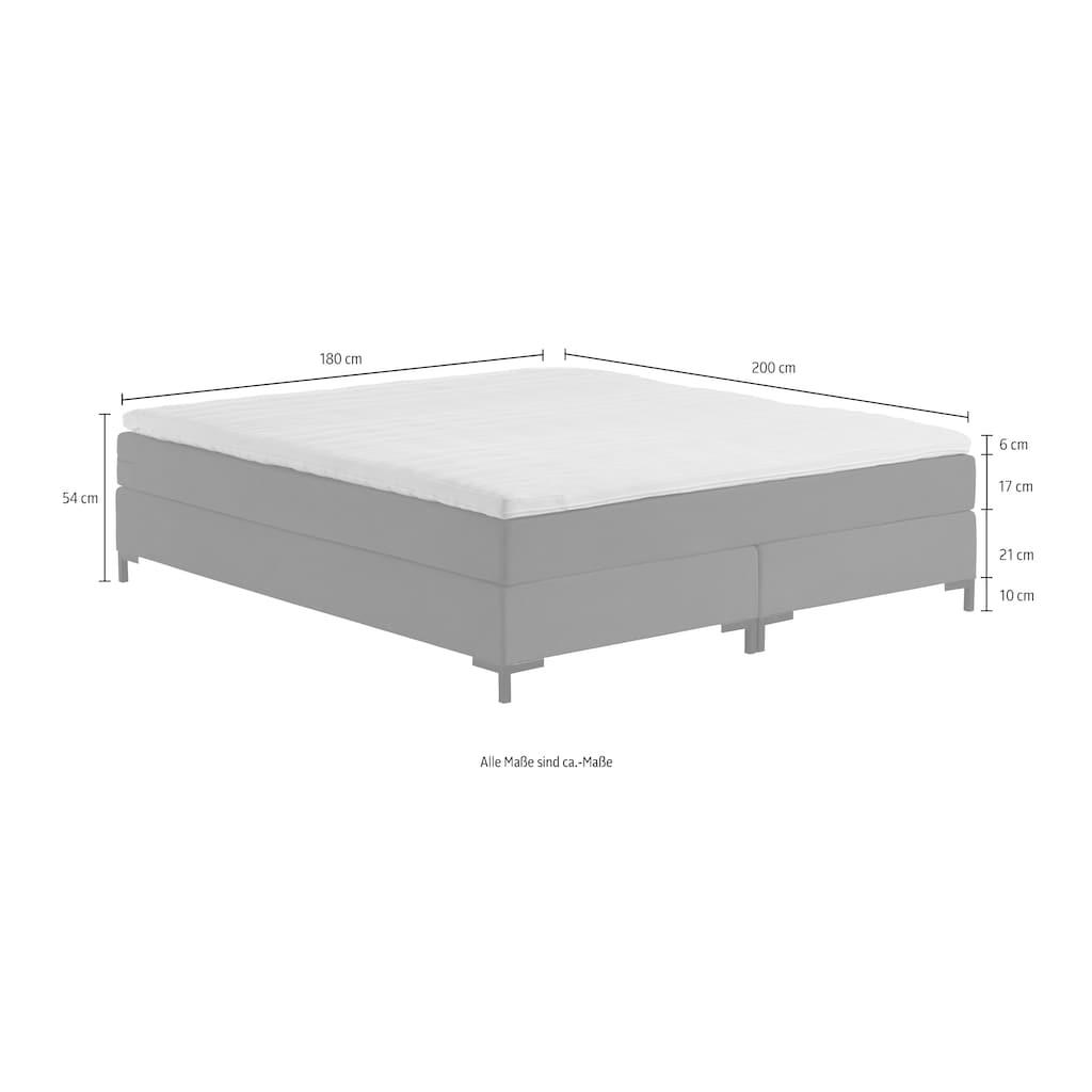 ATLANTIC home collection Boxspringbett »Romy«, ohne Kopfteil, frei im Raum stellbar