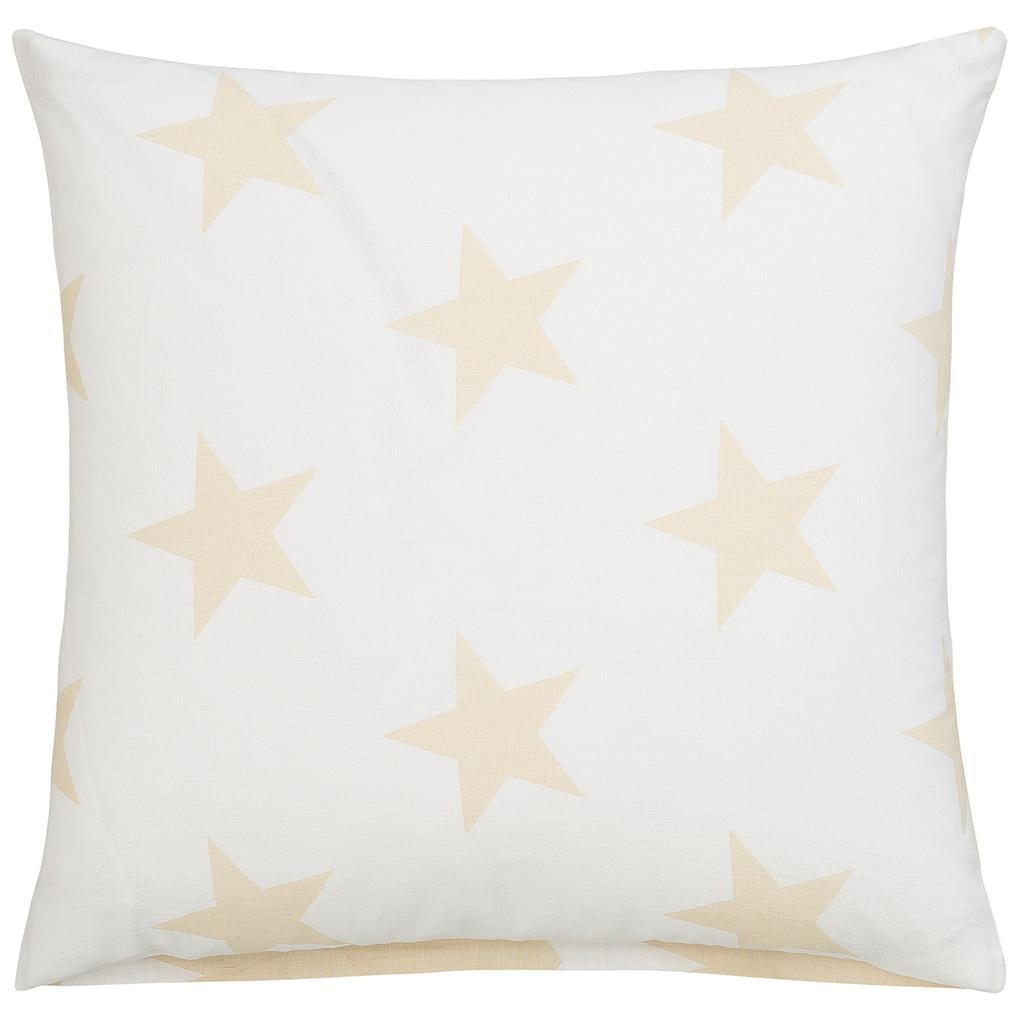 Lüttenhütt Kissenhüllen »Stella«, (2 St., 2x 40x40cm), mit niedlichen Sternen