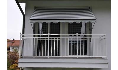 ANGERER FREIZEITMÖBEL Klemmmarkise hellgrau - grau, Ausfall: 150 cm, versch. Breiten kaufen