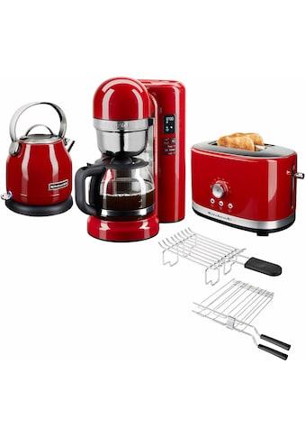 KitchenAid Frühstücks-Set »3-teilig«, Empire Rot kaufen