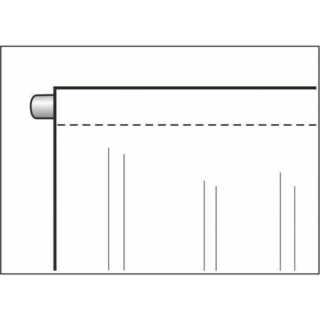WILLKOMMEN ZUHAUSE by ALBANI GROUP Vorhang »Winterlandschaft«, HxB: 225x100, Jacquard-Fensterbild