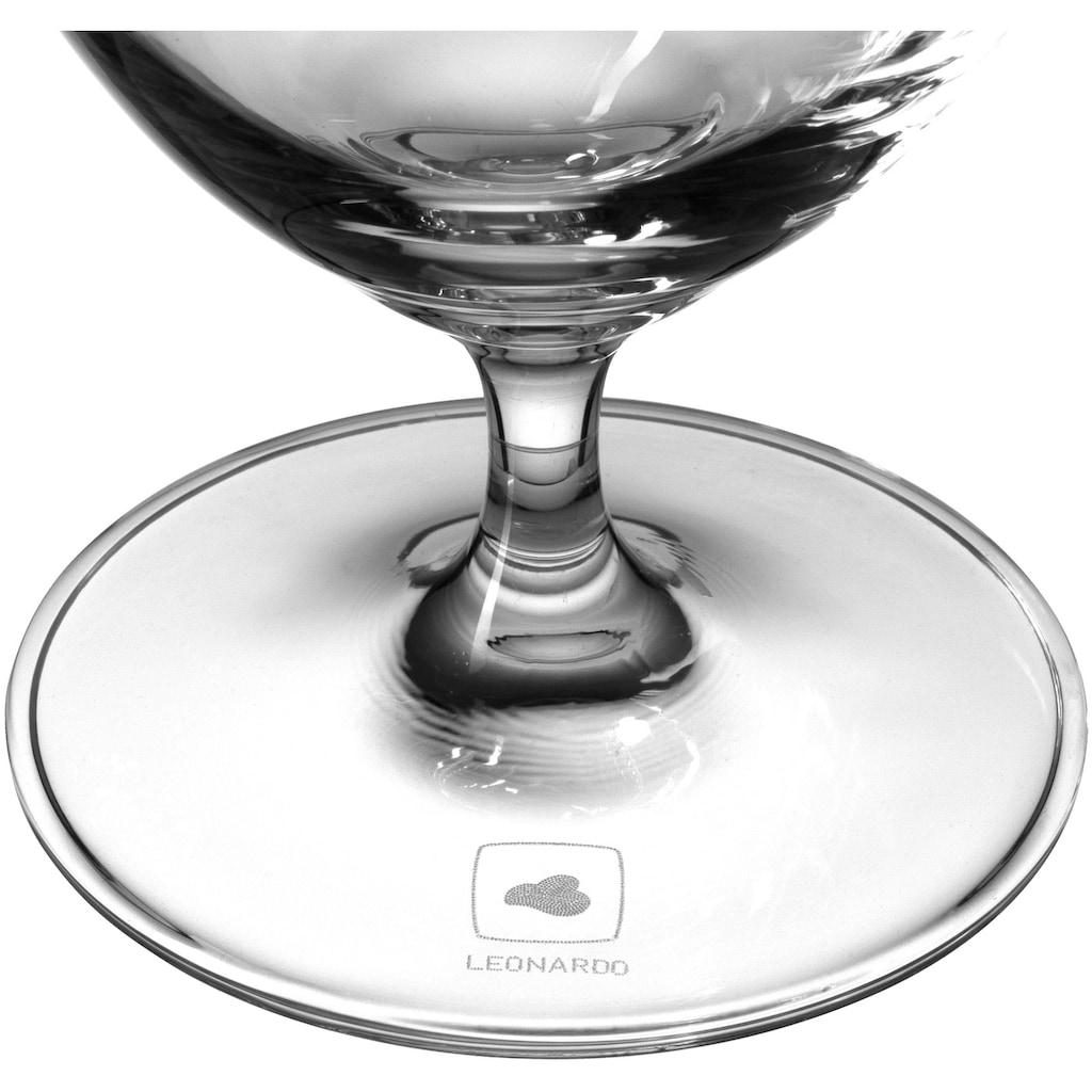 LEONARDO Glas »Chateau«, (Set, 6 tlg.), 380 ml, Teqton-Qualität, 6-teilig