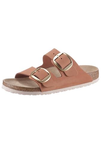 Birkenstock Pantolette »ARIZONA«, Zweischnaller, in schmaler Schuhweite, Leder kaufen