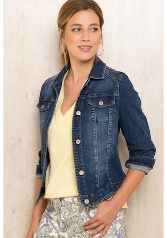 bianca Jeansjacke »TATJA«, im modernen, lässigen Schnitt kaufen