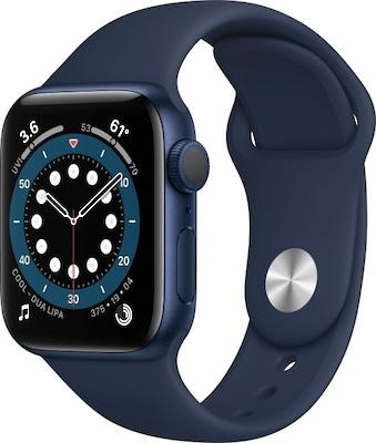 Apple Watch in Dunkelblau