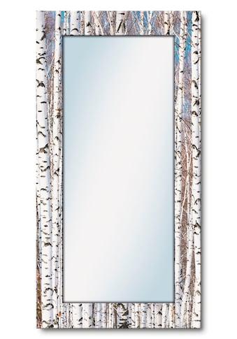 Artland Wandspiegel »Winterbirkenwald Wintergelassenheit«, gerahmter Ganzkörperspiegel... kaufen