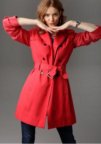 Aniston CASUAL Trenchcoat, mit Gürtel zum Regulieren kaufen