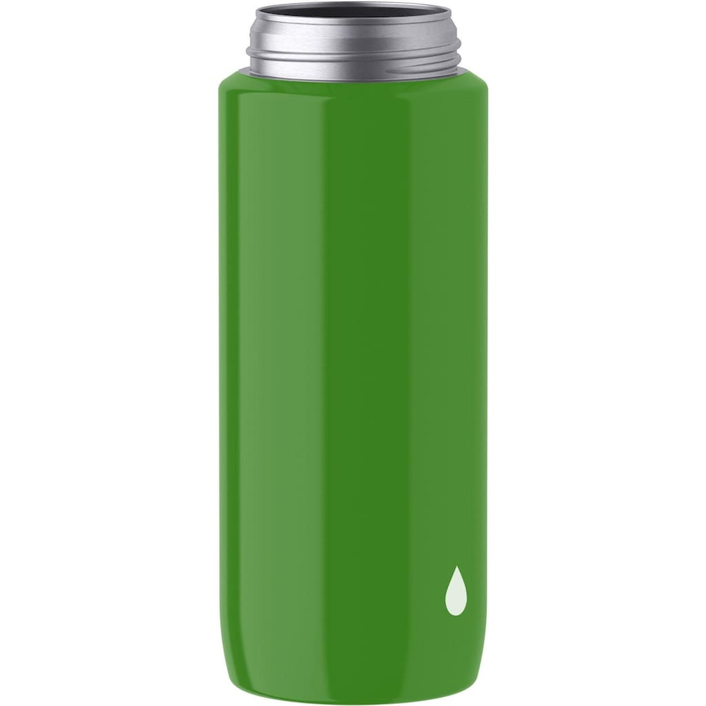 Emsa Trinkflasche »Drink2Go Lightsteel,«, 0,6 Liter Inhalt, Edelstahl