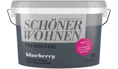 SCHÖNER WOHNEN-Kollektion Wand- und Deckenfarbe »Trendfarbe«, matt kaufen