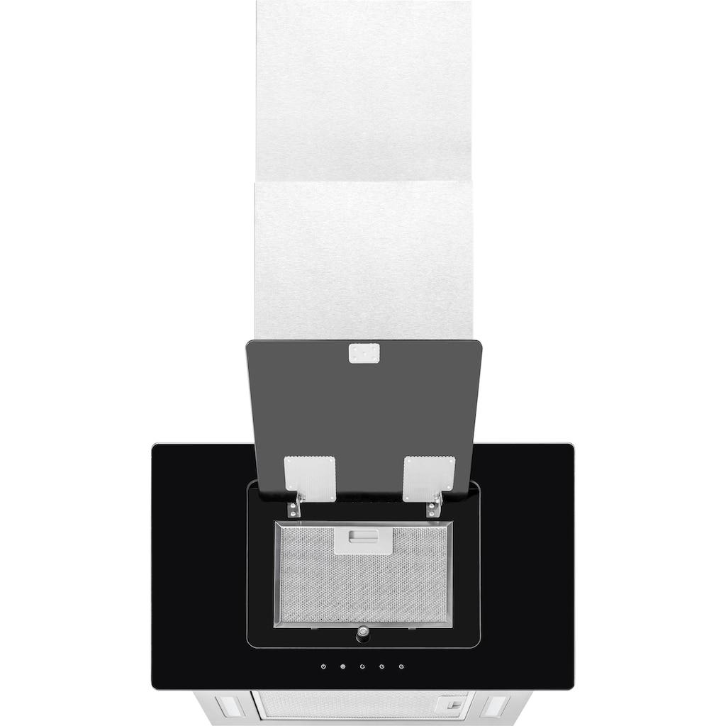 exquisit Kopffreihaube »KFD 60‐9 DUO Inox«