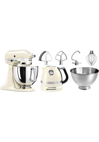 KitchenAid Küchenmaschine »Artisan 5KSM175PSEAC«, 300 W, 4,8 l Schüssel, mit Gratis... kaufen