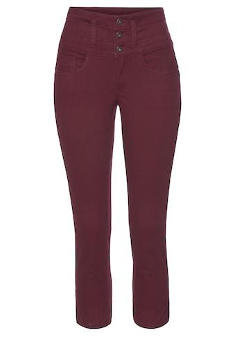 Arizona 7/8-Jeans »mit extra breitem Bund«, High Waist kaufen