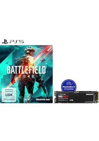 Samsung interne SSD »980 PRO SSD 2TB + Battlefield 2042 PS5« kaufen