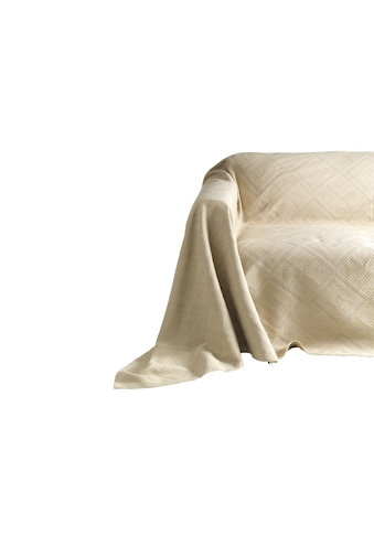 Sofaüberwurf mit Hoch - /Tief - Struktur kaufen
