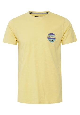 Solid Print-Shirt »Emmo«, T-Shirt mit Print kaufen
