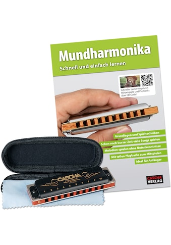 Cascha Mundharmonika-Set »Professional Blues Harmonica«, inkl. Lernbuch kaufen
