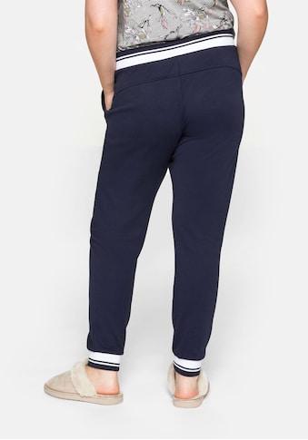 Sheego Relaxhose, mit elastischem Beinabschluss kaufen