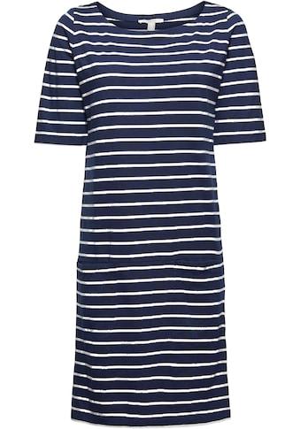 Esprit Shirtkleid, im tollen Ringel-Look kaufen