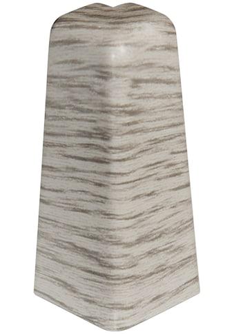 EGGER Außenecke »Esche grau«, Außeneck - Element für 6 cm Sockelleiste, 2 Stk kaufen