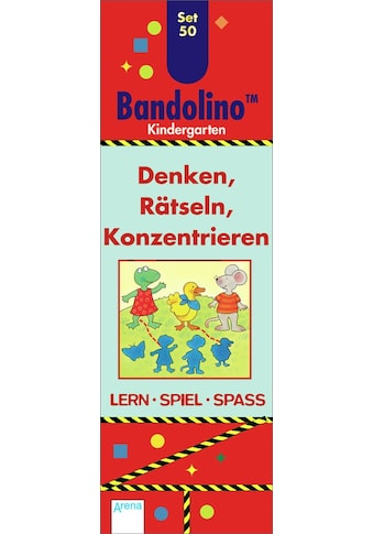 Buch Denken, Rätseln, Konzentrieren / Friederike Barnhusen, Bianca Johannsen, Katrin Merle, Corina Beurenmeister kaufen