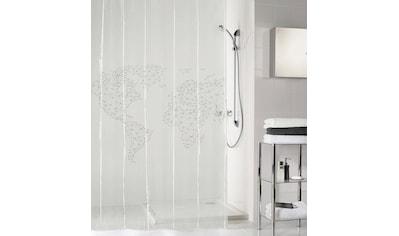 Kleine Wolke Duschvorhang »Reiselust«, Breite 180 cm, (1 tlg.), Höhe 200 cm kaufen