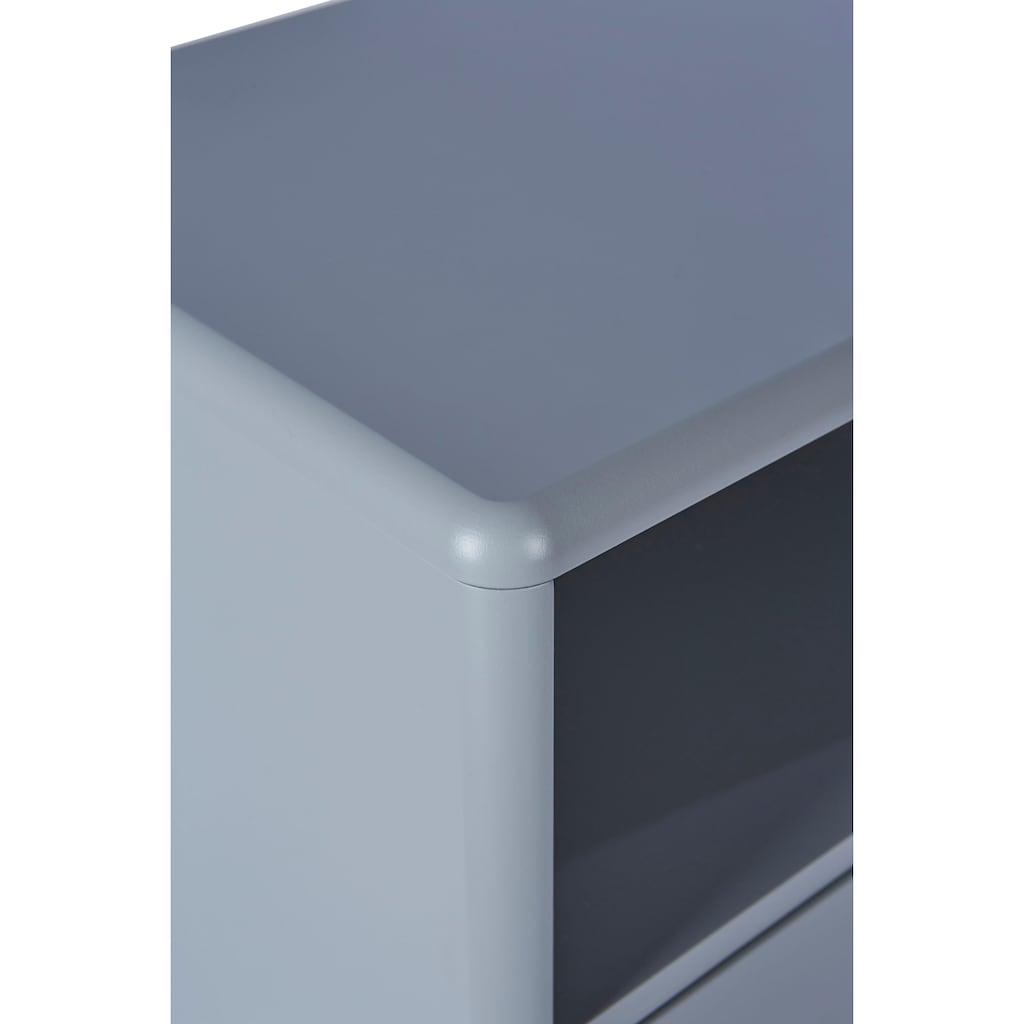 TOM TAILOR Nachtkommode »COLOR BOX«, mit 1 Schublade, mit Push-to-Open, Füße Eiche geölt, Breite 40 cm