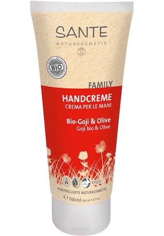 SANTE Handcreme »Bio-Goji & Olive« kaufen