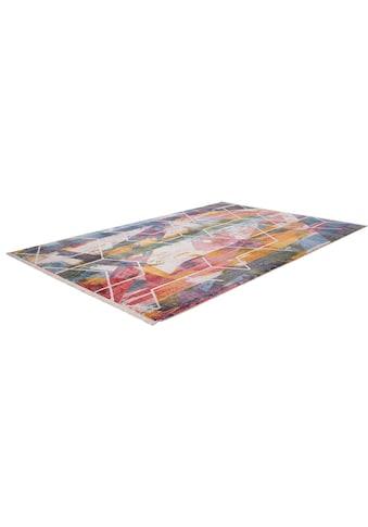 Obsession Teppich »My Laos 458«, rechteckig, 14 mm Höhe, modernes Design, mit Fransen,... kaufen