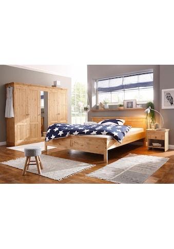 Home affaire Schlafzimmer-Set, (Set, 4 St.), bestehend aus 180er Bett, 5-trg Schrank... kaufen
