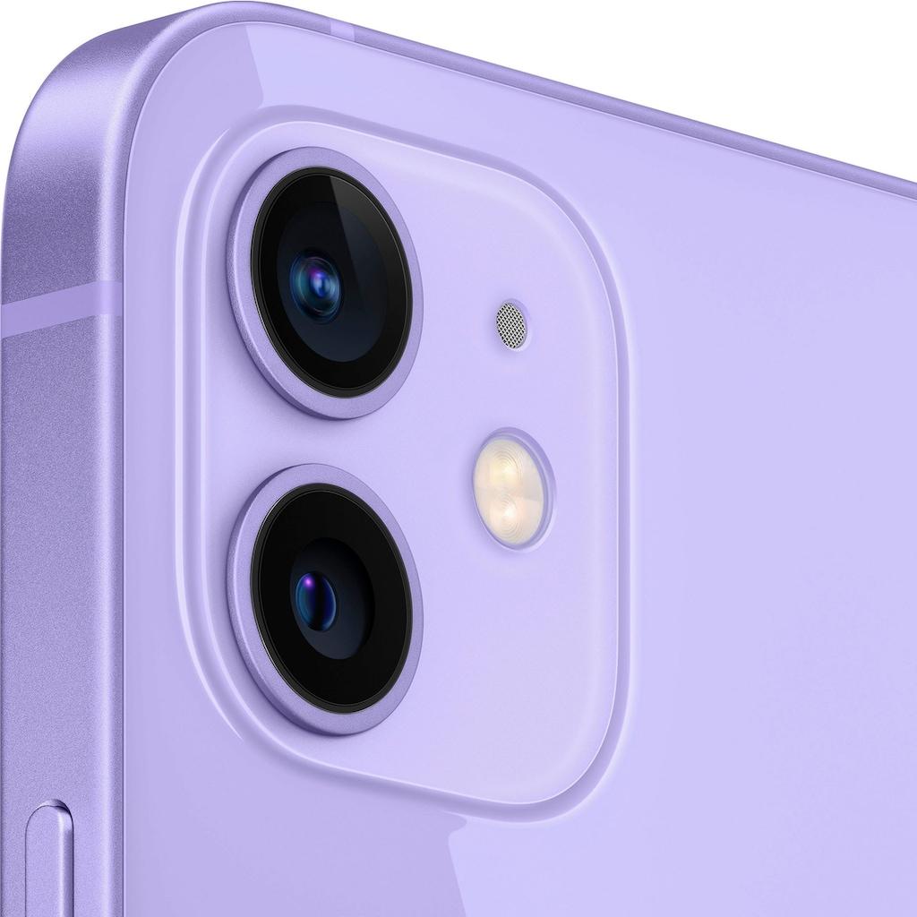 """Apple Smartphone »iPhone 12«, (15,5 cm/6,1 """", 256 GB Speicherplatz, 12 MP Kamera), ohne Strom Adapter und Kopfhörer, kompatibel mit AirPods, AirPods Pro, Earpods Kopfhörer"""