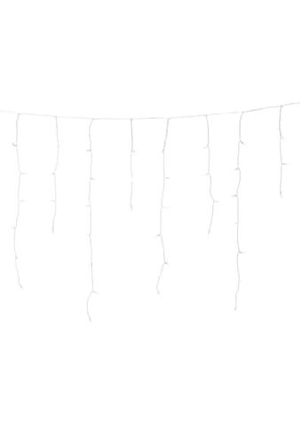 KONSTSMIDE LED-Lichtervorhang, LED Eisregenvorhang für den Außenbereich, 200 warm... kaufen