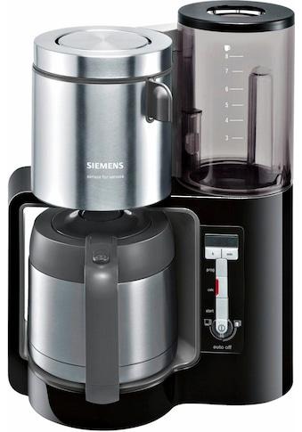 SIEMENS Filterkaffeemaschine »Sensor for Senses TC86503«, Papierfilter, 1x4,... kaufen