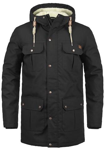 Solid Winterjacke »Chara Teddy«, warme Jacke mit Teddyfutter in der Kapuze und im... kaufen