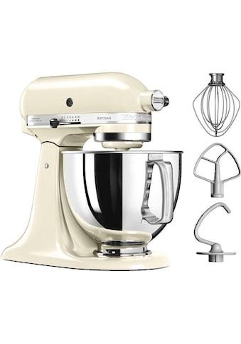KitchenAid Küchenmaschine »Artisan 5KSM125EAC«, 300 W, 4,8 l Schüssel, Farbe: creme kaufen