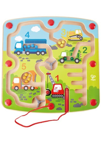 Hape Spiel »Baufahrzeuge-Labyrinth« kaufen