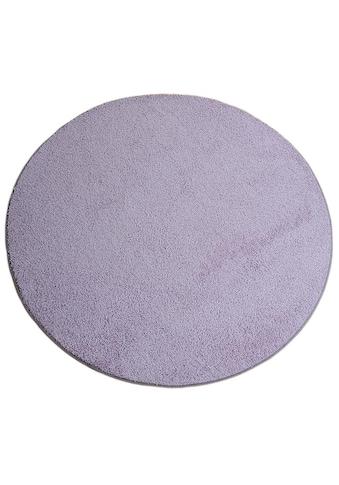 Living Line Teppich »Shaggy Pulpo«, rund, 22 mm Höhe, Shaggy Teppich, Wohnzimmer kaufen