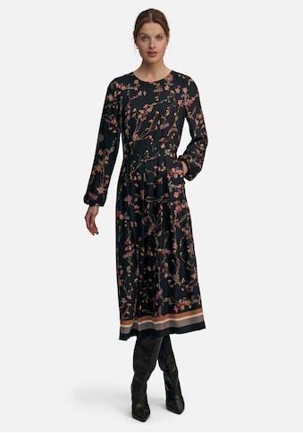 Uta Raasch Abendkleid »mit Allover-Druck«, und breitem Saum kaufen