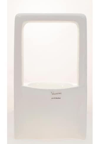 VALENTINO Wohnideen Pflanzschale »Malibu«, (1 St.), mit LED Beleuchtung, Höhe ca. 33 cm kaufen