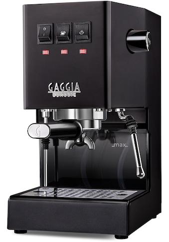 Gaggia Siebträgermaschine New Classic Edition Schwarz kaufen