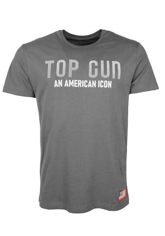 TOP GUN T-Shirt »TG20212009«, sportlicher Schnitt kaufen