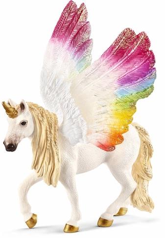 Schleich® Spielfigur »bayala, Geflügeltes Regenbogeneinhorn (70576)« kaufen