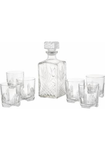 van Well Whiskyglas »Selecta«, (Set, 7 tlg.), 6 Gläser, 1 Karaffe kaufen