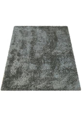 Hochflor - Teppich, »Bamba 410«, Paco Home, rechteckig, Höhe 45 mm, maschinell getuftet kaufen