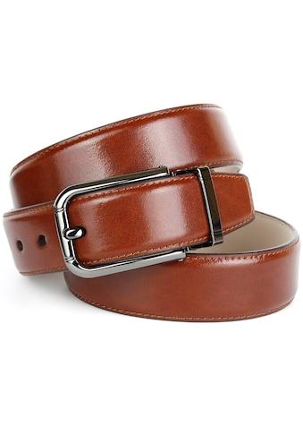 Anthoni Crown Ledergürtel, Eleganter Ledergürtel kaufen