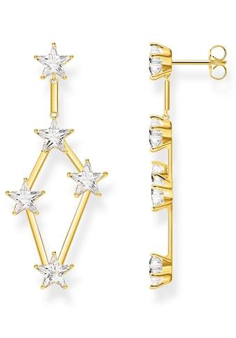 THOMAS SABO Paar Ohrstecker »Sterne gold, H2083-414-14«, mit Zirkonia kaufen