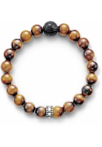 THOMAS SABO Armband »A1408-806-2«, mit Obsidian und mit Tigerauge kaufen