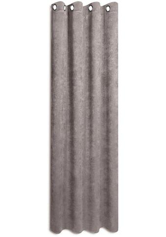 Gerster Vorhang »Urban«, HxB: 235x140, Hochwertiger Ösenschal aus Chenille kaufen