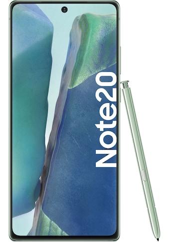 Samsung Smartphone »Galaxy Note20«, (16,95 cm/6,7 Zoll, 256 GB Speicherplatz, 64 MP... kaufen