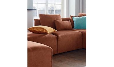 elbgestoeber Sessel »Elbdock«, Modul - zum eigenen Zusammenstellen; in vielen Bezugsqualitäten und Farben kaufen