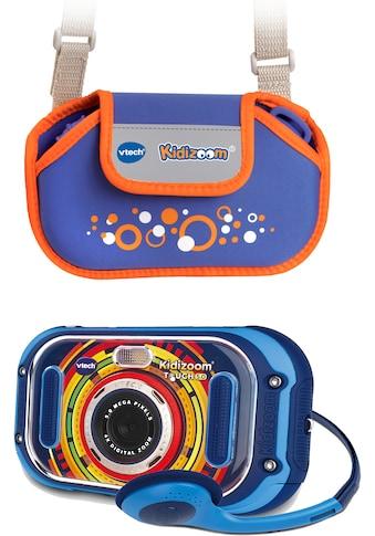 Vtech® Kinderkamera »KidiZoom Touch 5.0, blau«, inklusive Tragetasche kaufen